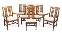 dining chairs (set of 8) by arthur w. simpson