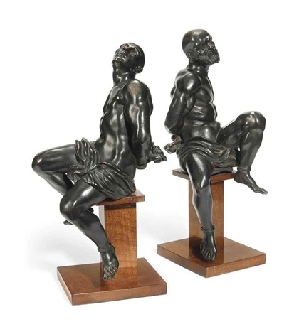 models of slaves pair by pietro tacca