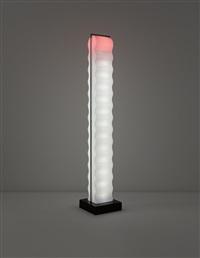 cometa floor lamp, model no. l 026, designed by ettore sottsass