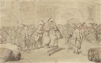 dr syntax at the university by thomas rowlandson