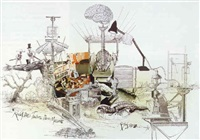 roald dahl's fantastic dream machine by ralph idris steadman