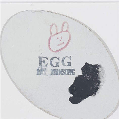 untitled egg by ray johnson