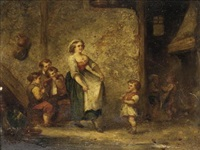 the dance (+ in the tavern; pair) by martin domicent