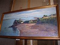 village en bord de mer by louis azema