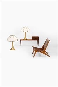 paire de lampes à poser modèle fungo (pair) by gabriella crespi