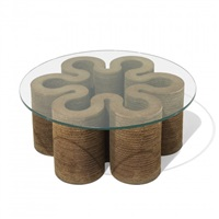 coffee table by frank gehry