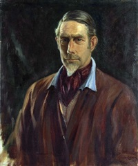 self-portrait by maurice f. codner