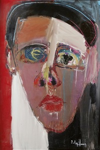 portrait de femme by victor hasch