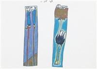 perna de pau o avestruz by josé leonilson