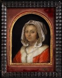 portrait einer jungen dame by frans van mieris