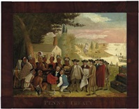 william penn's treaty by edward hicks