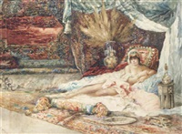 the harem beauty by george edwin ewing