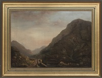 the gap of dunloe, killarney by cecilia margaret campbell