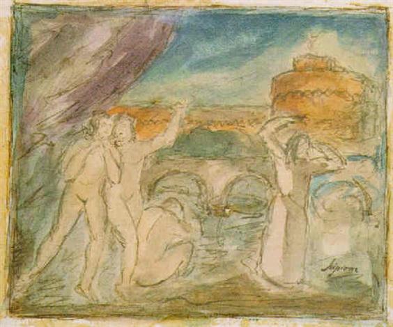 nudi a ponte s angelo by scipione gino bonichi