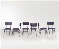 sei sedie elettra by studio architetti b.b.p.r. (co.)