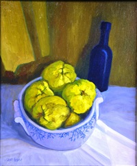 nature morte aux coings by jean pesce