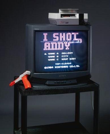 i shot andy warhol by cory arcangel