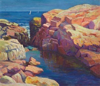rocks at gloucester by harriet randall lumis