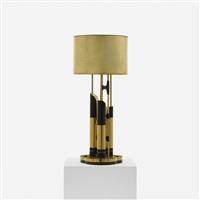table lamp by claude de muzac