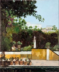 patio casa pilatos by maria angeles buenos campos