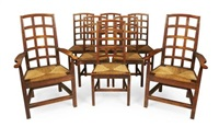 chairs (set of 8) by ernest william gimson