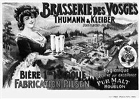 brasserie des vosges (by a. quenoray) by posters: advertising
