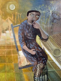 nostalgic girl by mary newcomb