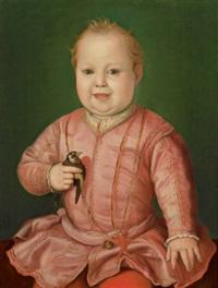 ritratto di giovanni de medici all'età di due anni by agnolo bronzino