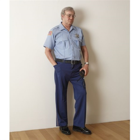 security guard by duane hanson