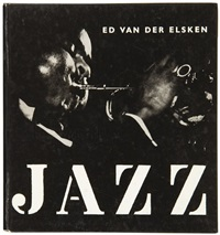 jazz (bk w/109 works, folio) by ed van der elsken