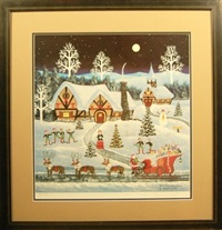 north pole countdown by jane wooster scott
