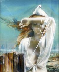 le chemisier blanc by jean-baptiste valadie