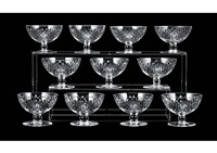 champagne glass: paris (set of 11) by baccarat
