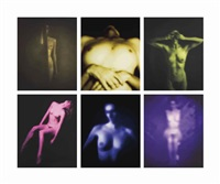 color series, 1998 (6 works) by robert stivers