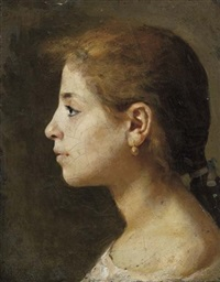 profilo di giovinetta by gioacchino toma