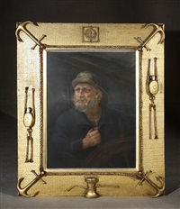 portrait of a sea captain by american school (20)