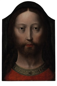 head of christ by gerard david