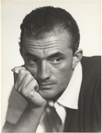 luchino visconti à la cigarette by pasquale de antonis