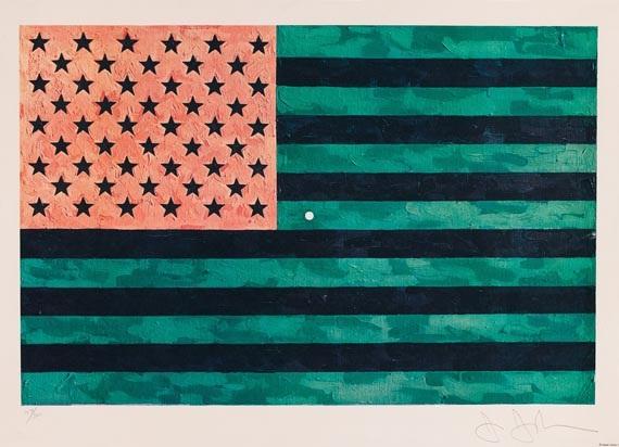 flag - moratorium by jasper johns