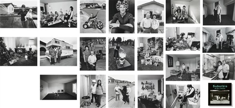 suburbia set of 100 works by bill owens
