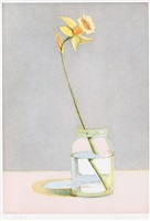 daffodil (from recent etchings i) by wayne thiebaud