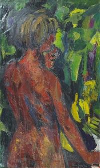 nuda in giardino by ettore fico