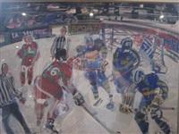 partie de hockey sur glace by maurice empi