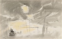 seascape by lyonel feininger
