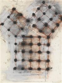 3 + 4 + 5 (squared) by mel bochner
