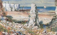 a cove on the shore by cecil gordon lawson