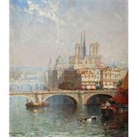A view of Notre-Dame, Paris, 1905