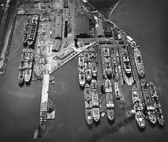 u.s. navy - vii fleet, baltimore by w. eugene smith