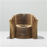 hole in one chair by frank gehry