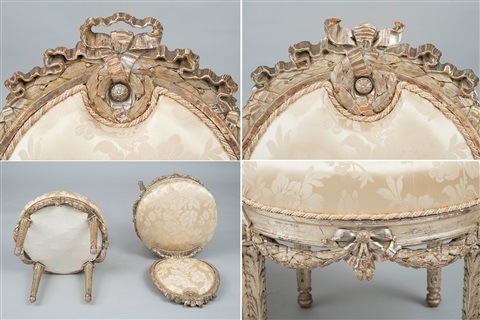a russian imperial furniture set 6 pieces